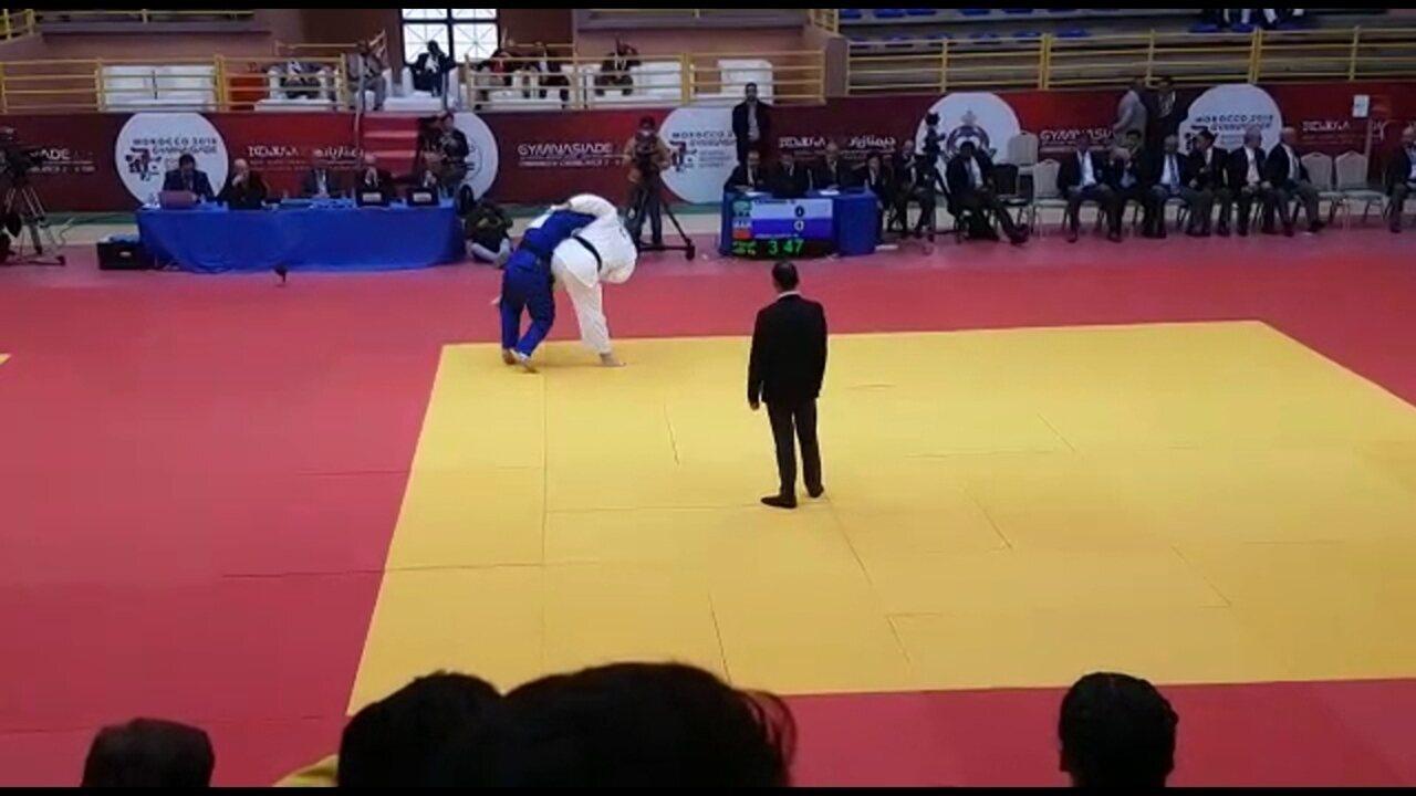 Pernambucano leva ouro nas Jogos Mundiais Escolares no judô, em Marraquexe