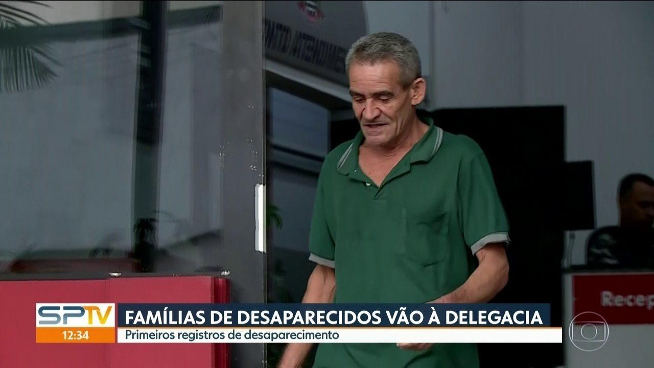 Homem registrado como desaparecido após desabamento é encontrado em MG