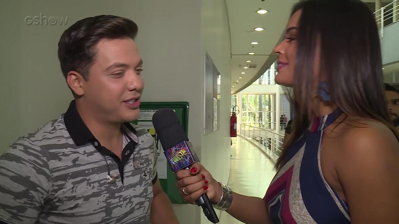 Nathália Zannin mostra bastidores da participação de Wesley Safadão no 'Ding Dong'