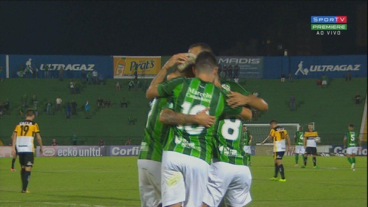 Melhores Momentos de Guarani 1x0 Criciúma - Série B do Campeonato Brasileiro