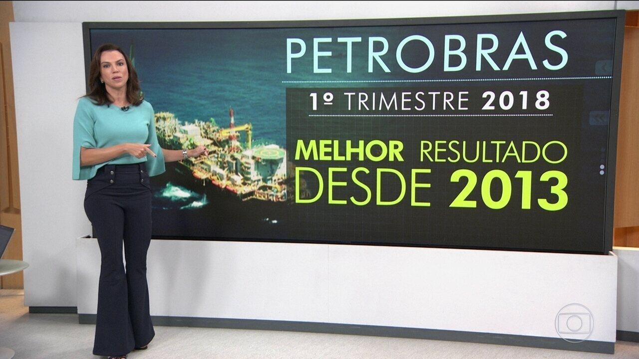 Petrobras tem lucro de quase R$ 7 bilhões