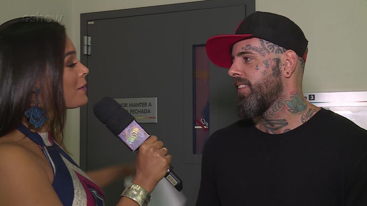 Nathália Zannin conversa com Tico Santa Cruz