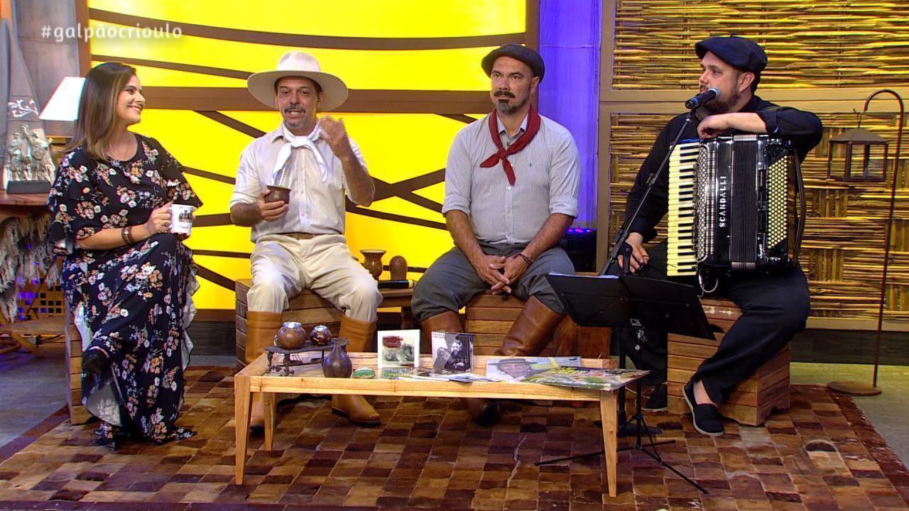 Reveja o terceiro bloco do 'Galpão Crioulo' de domingo (13)