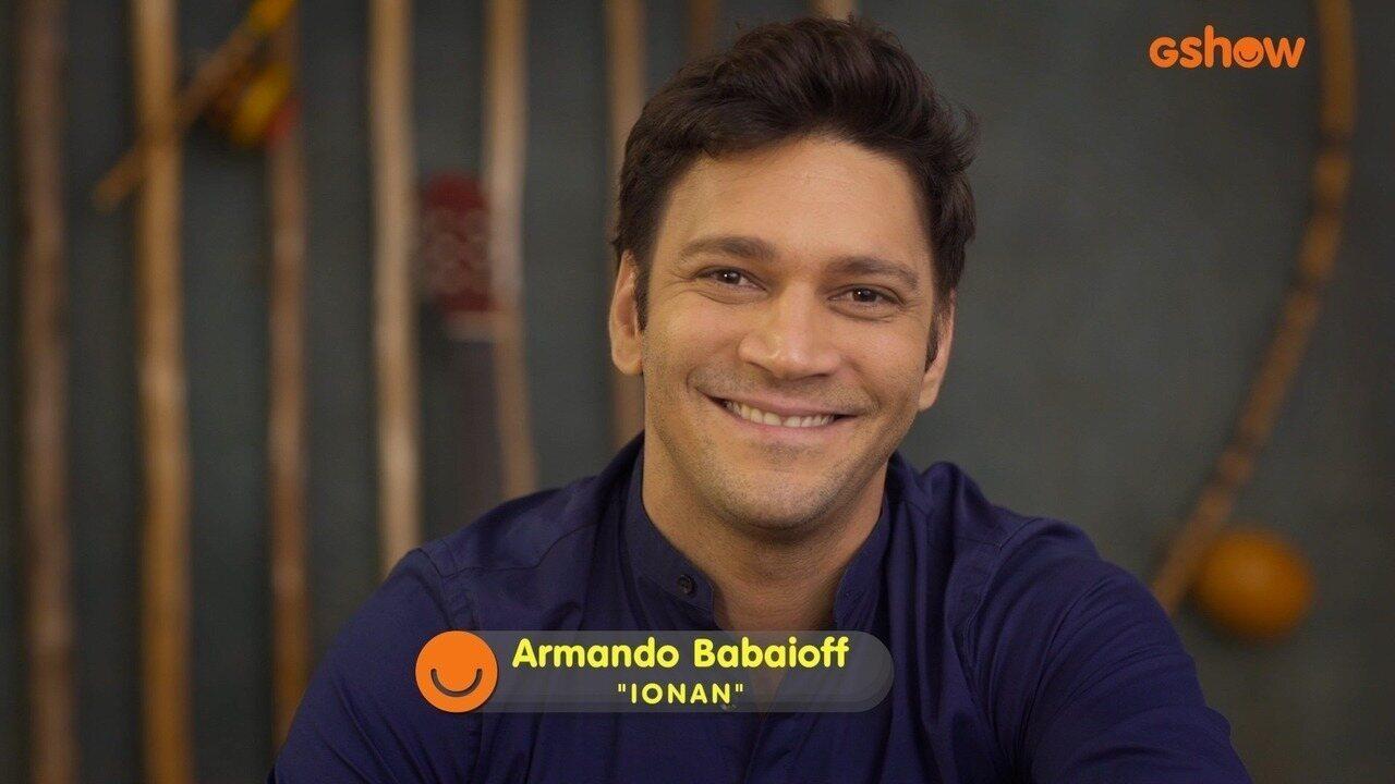 Armando Babaioff convida público cearense para assistir à novela Segundo Sol