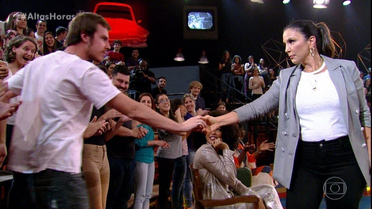 Ivete Sangalo canta 'Cheguei Pra Te Ama'