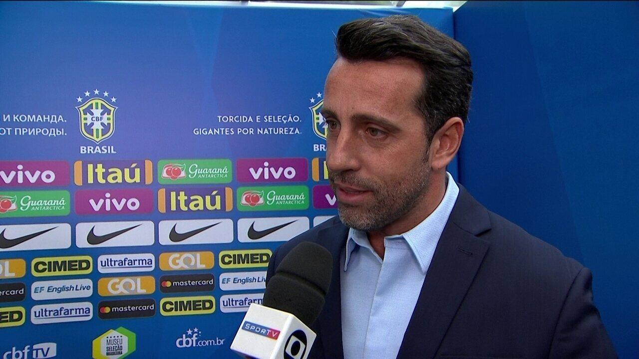 Edu Gaspar revela que nomes dos atletas da lista de espera não serão divulgados