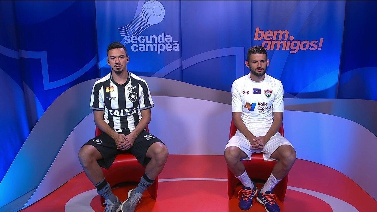 Rodrigo Lindoso e Jadson comentam vitória do Botafogo contra o Fluminense
