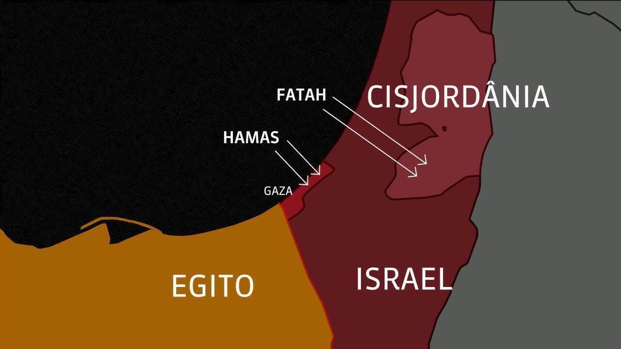 Faixa de Gaza, território palestino, é palco de violentos protestos