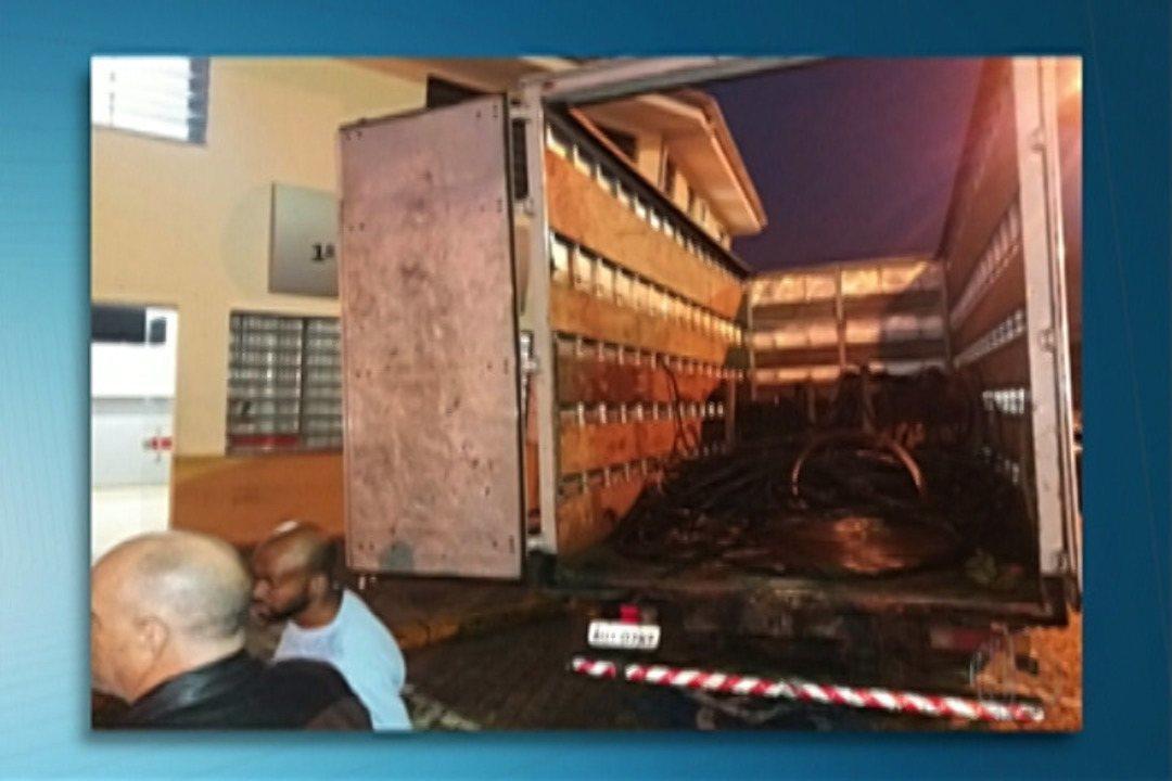 Suspeito de furtar cabos de cobre é preso em Jundiapeba, em Mogi