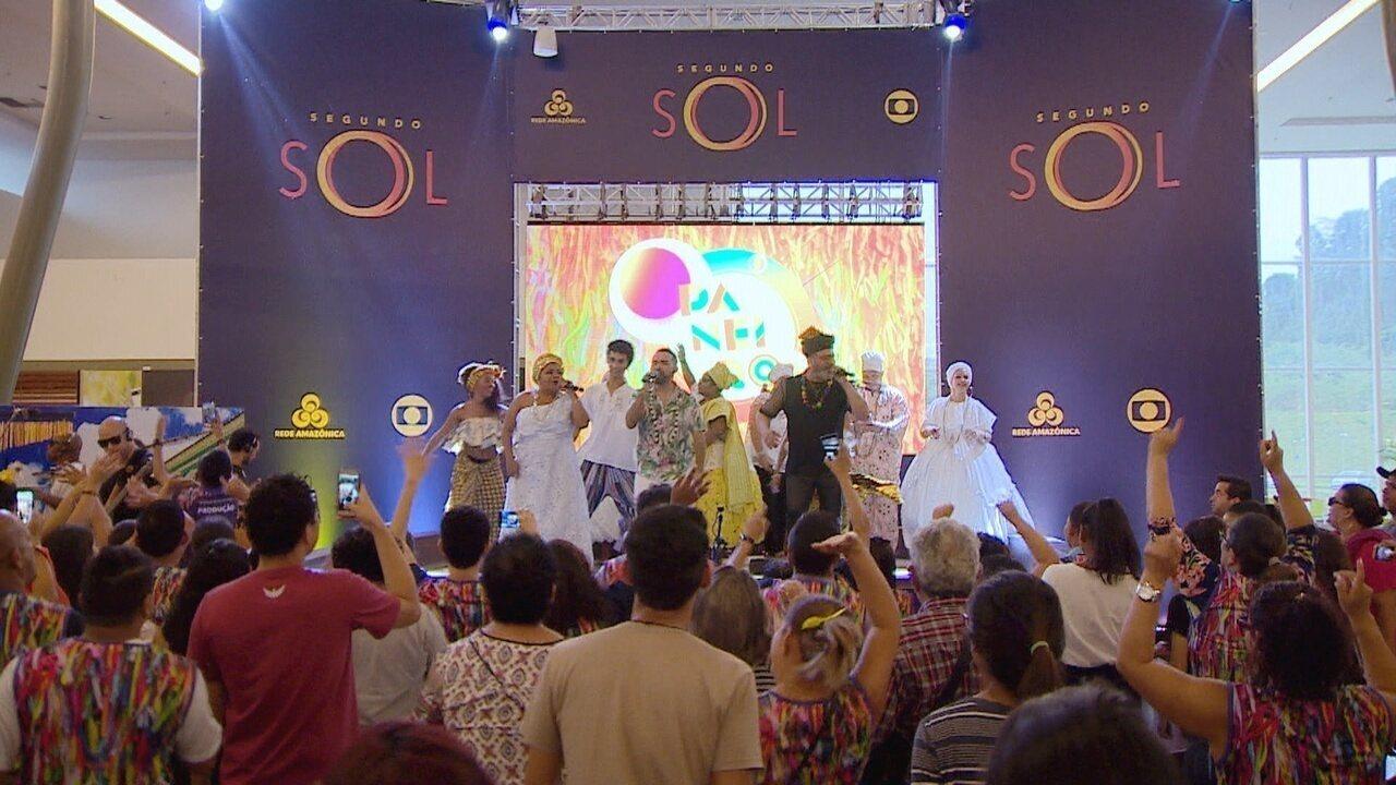 Veja o que rolou na festa de lançamento de Segundo Sol, em Manaus
