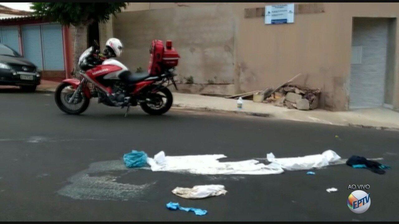 Homem morre após ser atropelado por motociclista em Ribeirão Preto, SP