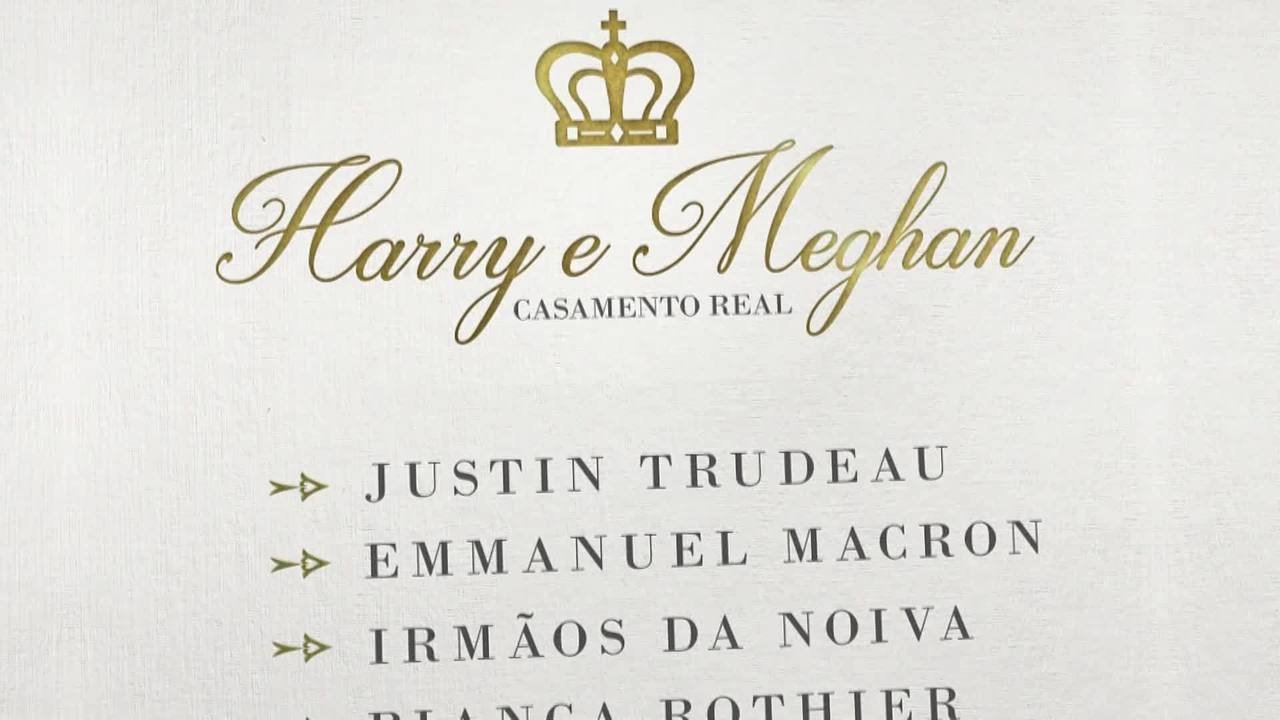 GloboNews transmite o casamento de Harry e Meghan Markle no dia 19 de maio