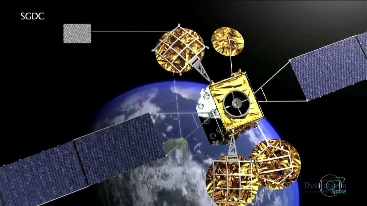 Sem oferecer banda larga, satélite dá prejuízo de R$ 800 mil reais por dia