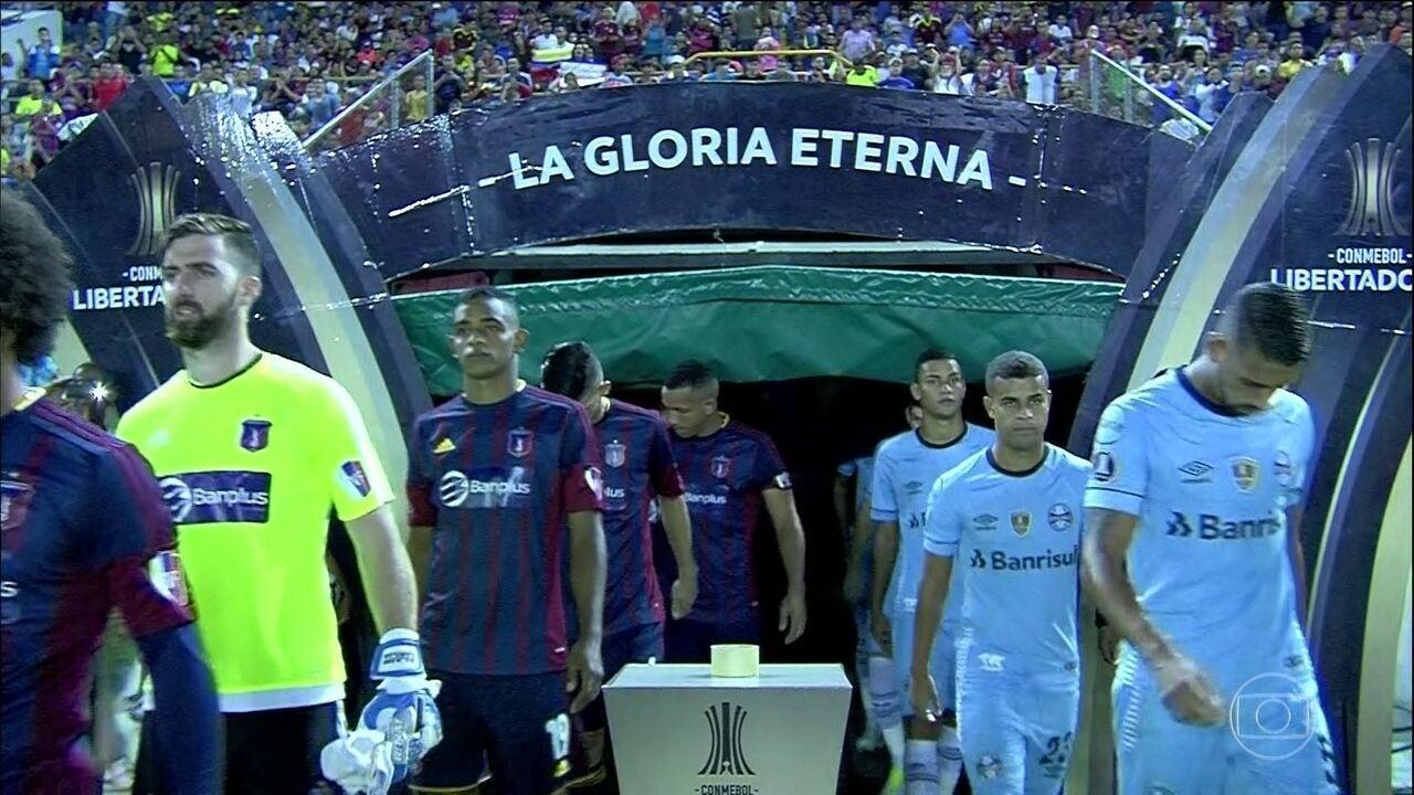 Gremio vence o Monagas e garante vaga nas oitavas da Libertadores