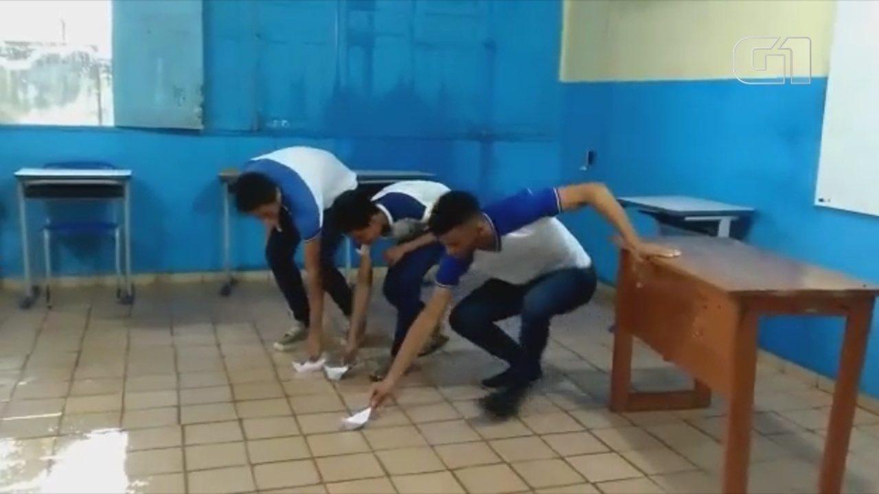 VÍDEO mostra estudantes