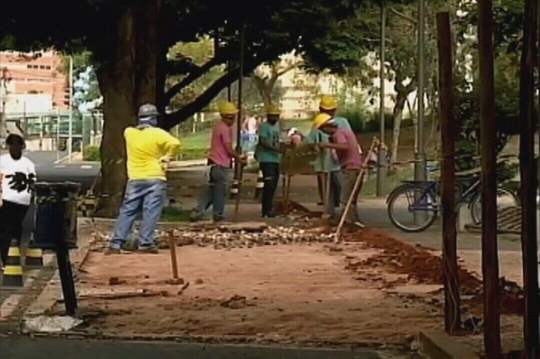 Iniciada obra do projeto 'Espaço Artur Machado' no Centro de Uberaba