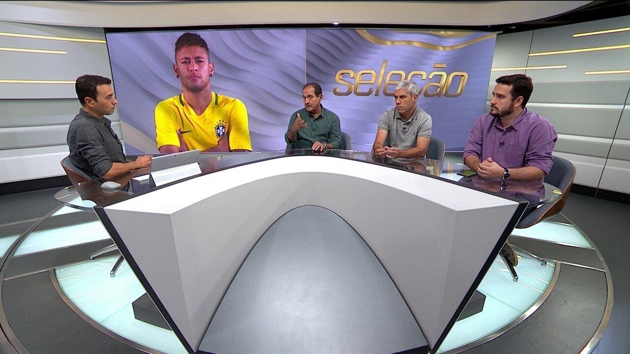 Seleção SporTV fala sobre o futuro de Neymar.