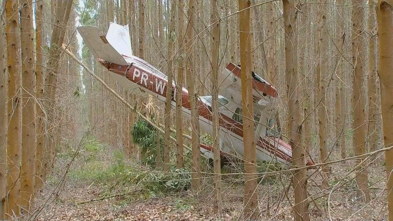Seripa vai investigar causas de queda de avião em Salto de Pirapora