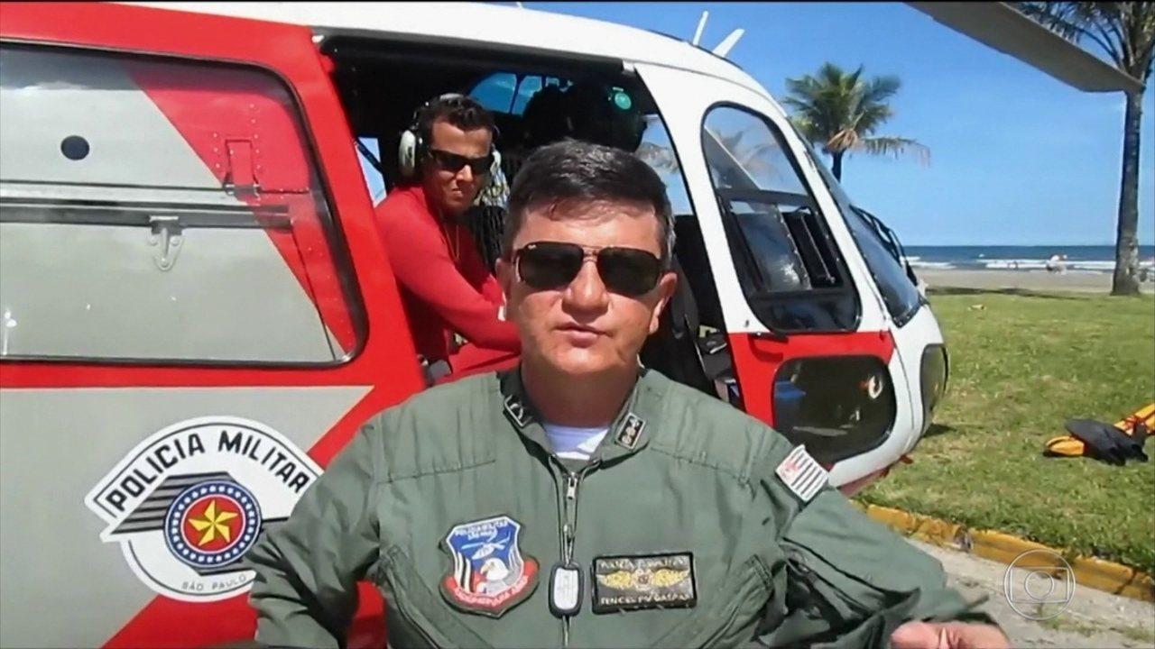 Empresa liga filha de tenente-coronel da PM a piloto de helicóptero preso