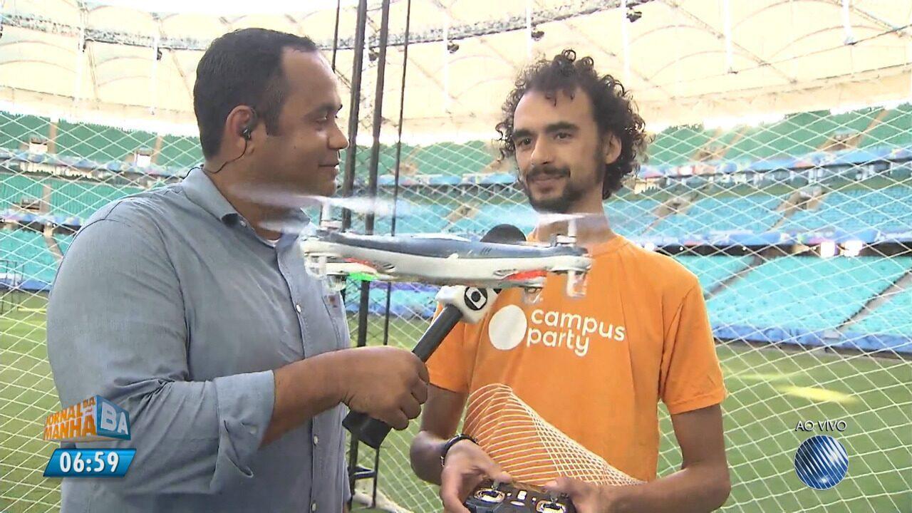 Campus Party Bahia começa nesta quinta-feira (17) na Arena Fonte Nova