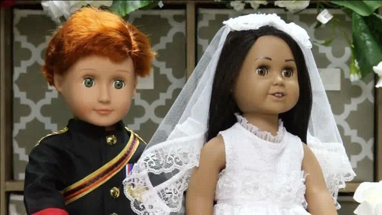 Designer dos EUA espera lucrar com bonecas de Harry e Meghan