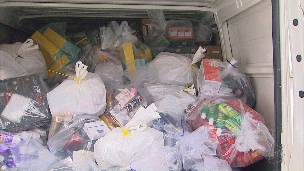 Polícia Federal prende suspeito de vender produtos importados ilegais