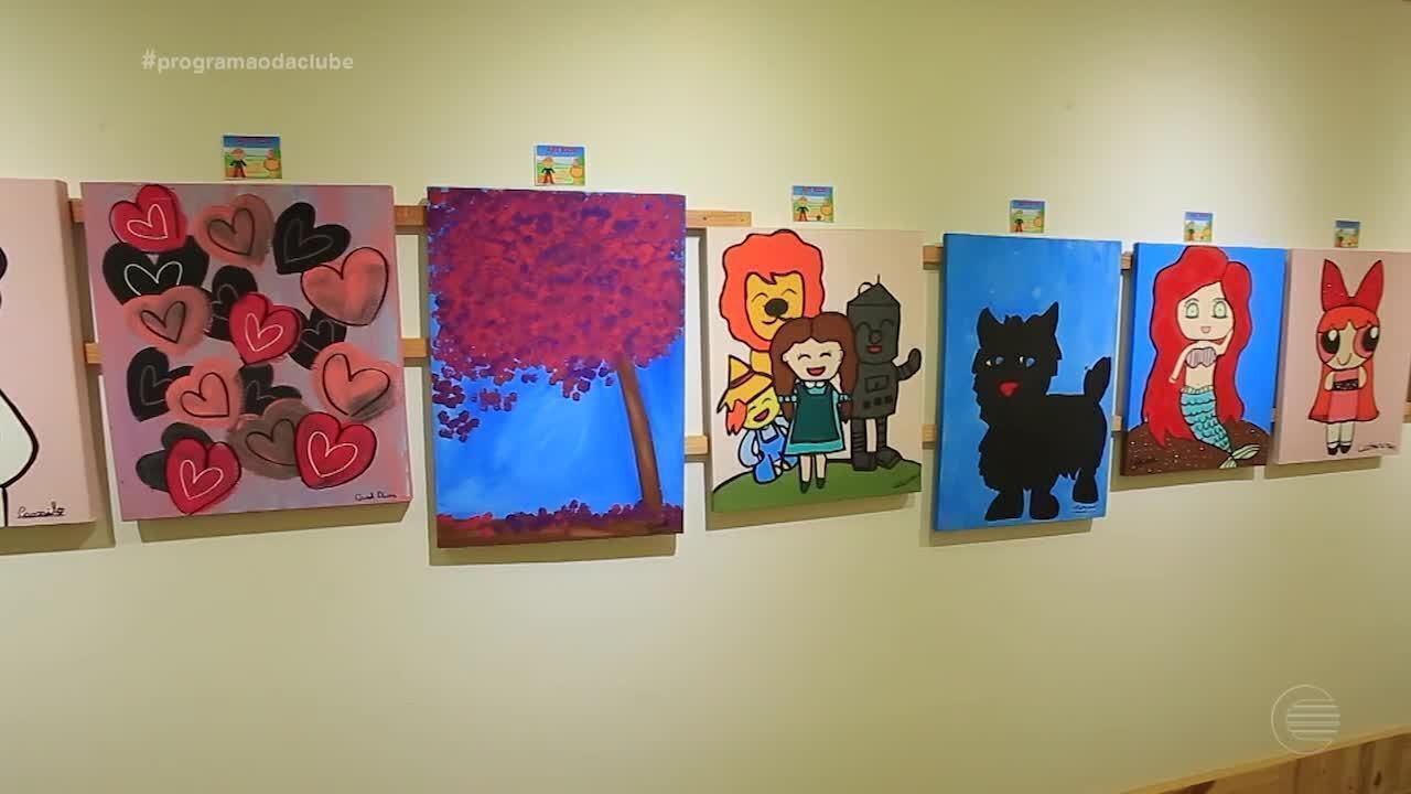 Exposição solidária em Teresina reúne produções feitas por crianças