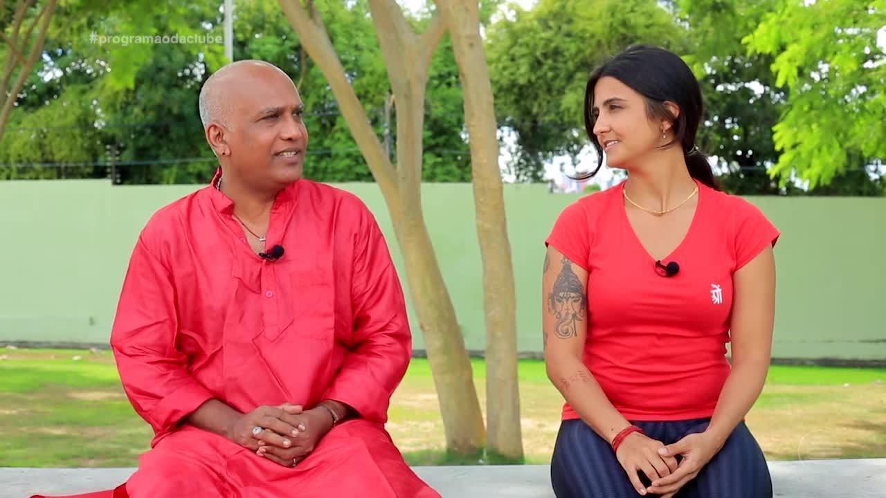 Piauiense se apaixona pelo yoga e pela cultura da Índia