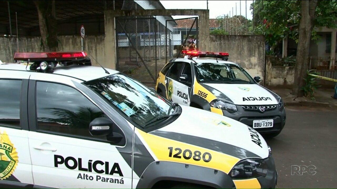 Assaltantes são mortos após confronto com a PM em escola de Alto Paraná