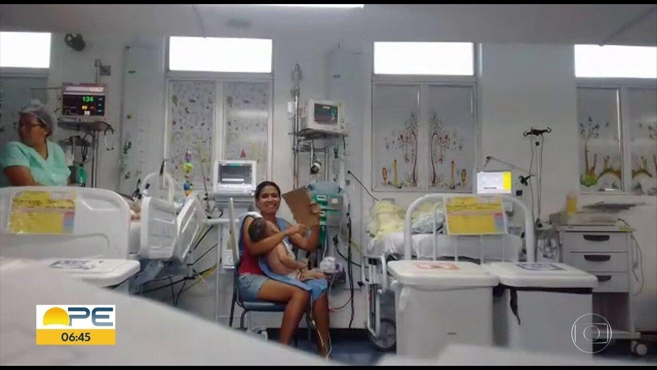 UTI pediátrica tem com ar-condicionado quebrado em hospital no Recife