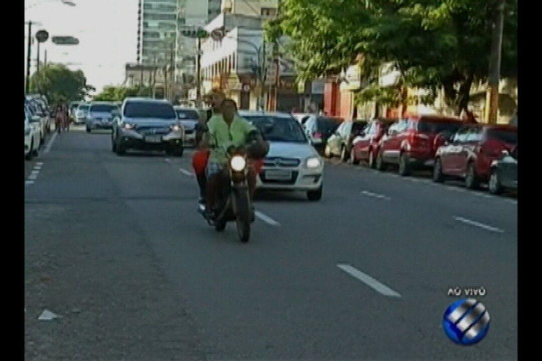 Motoristas que trafegam pela travessa Humaitá estão confusos sobre as mudanças no trânsito