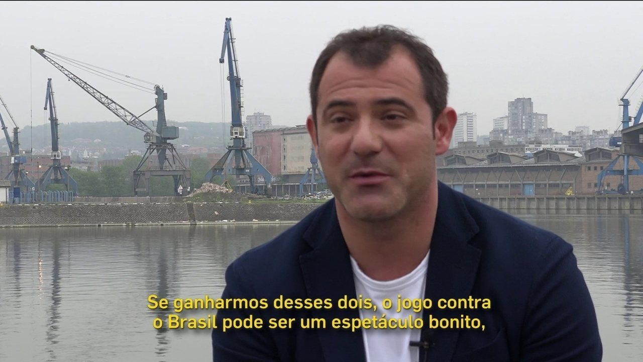 Único a defender 3 seleções em Copas, Stankovic quer Sérvia despreocupada contra o Brasil