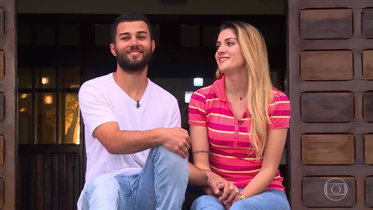 The Wall: Conheça a história de Rower e Fabiana