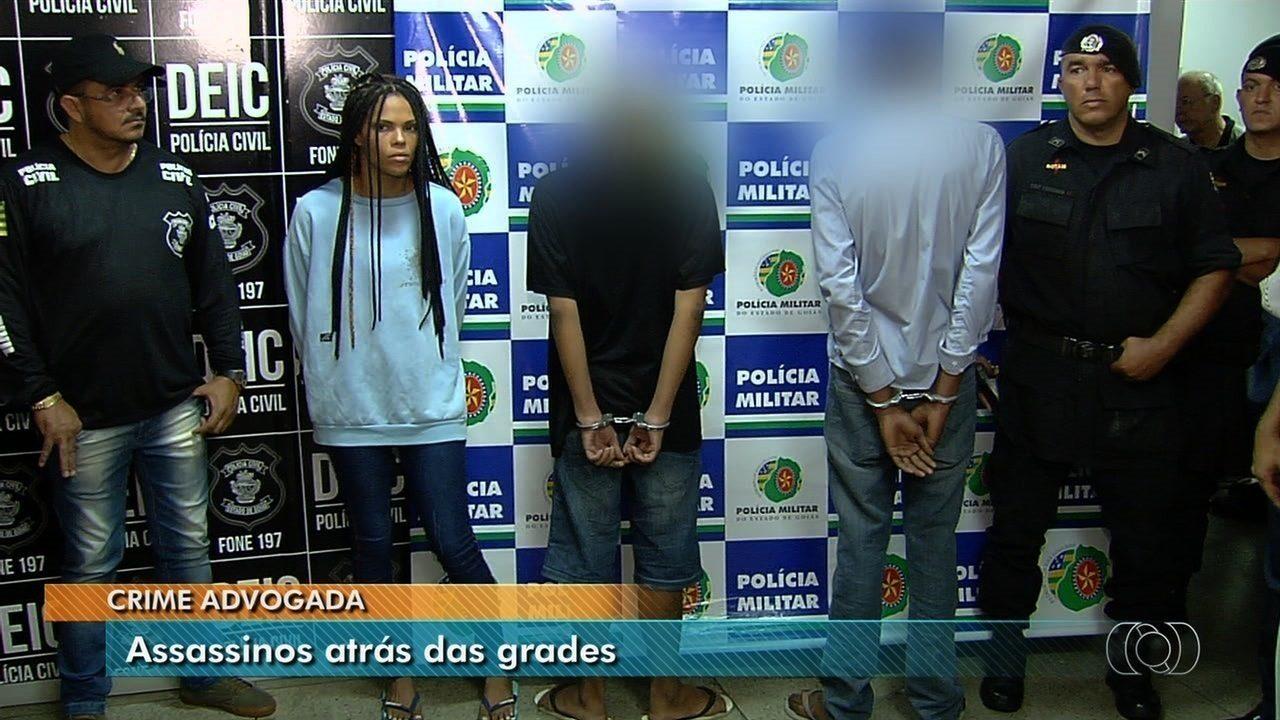 Dois menores são detidos e jovem é presa suspeitos de matar advogada em assalto