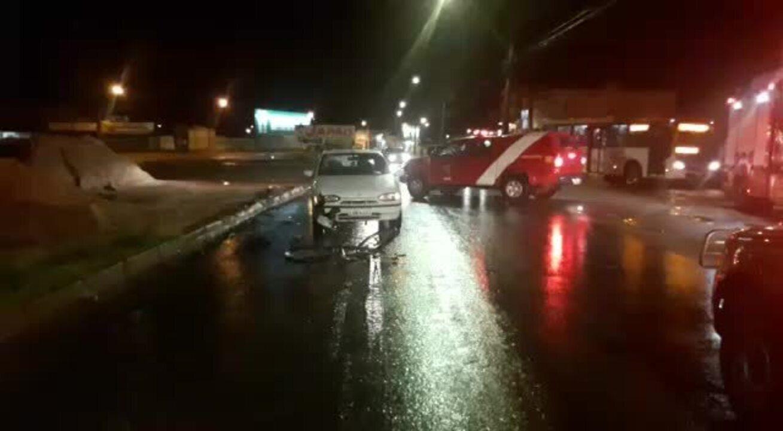 Ciclista é atropelado por motorista embriagado em Ceilândia, no DF