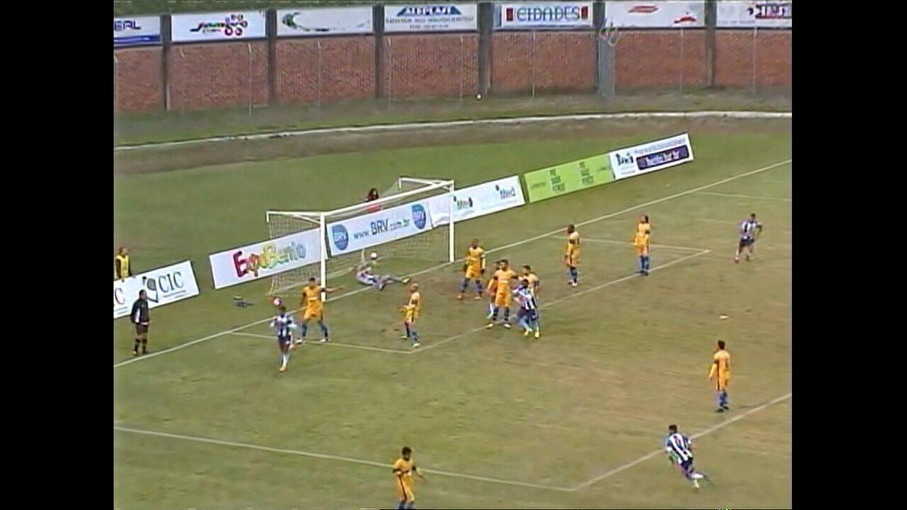 Veja os gols de Esportivo 2 x 0 Pelotas