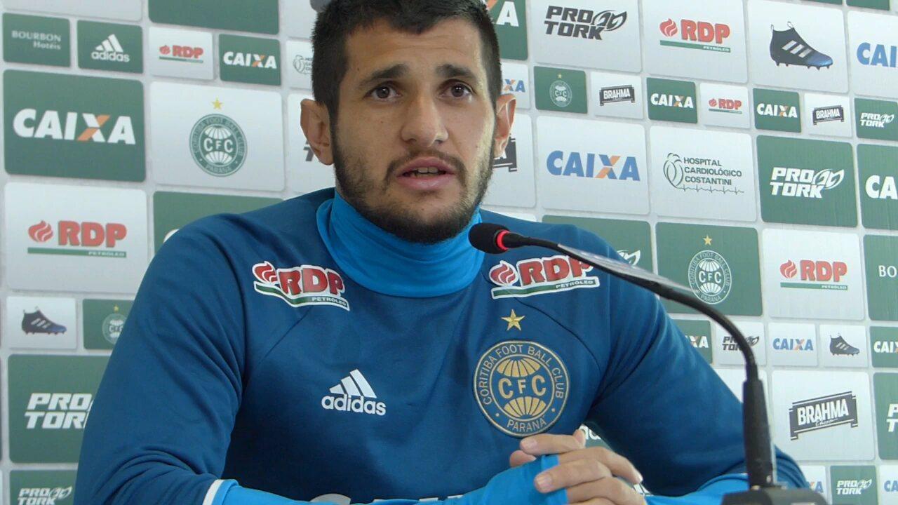 Bruno Moraes, atacante do Coritiba: