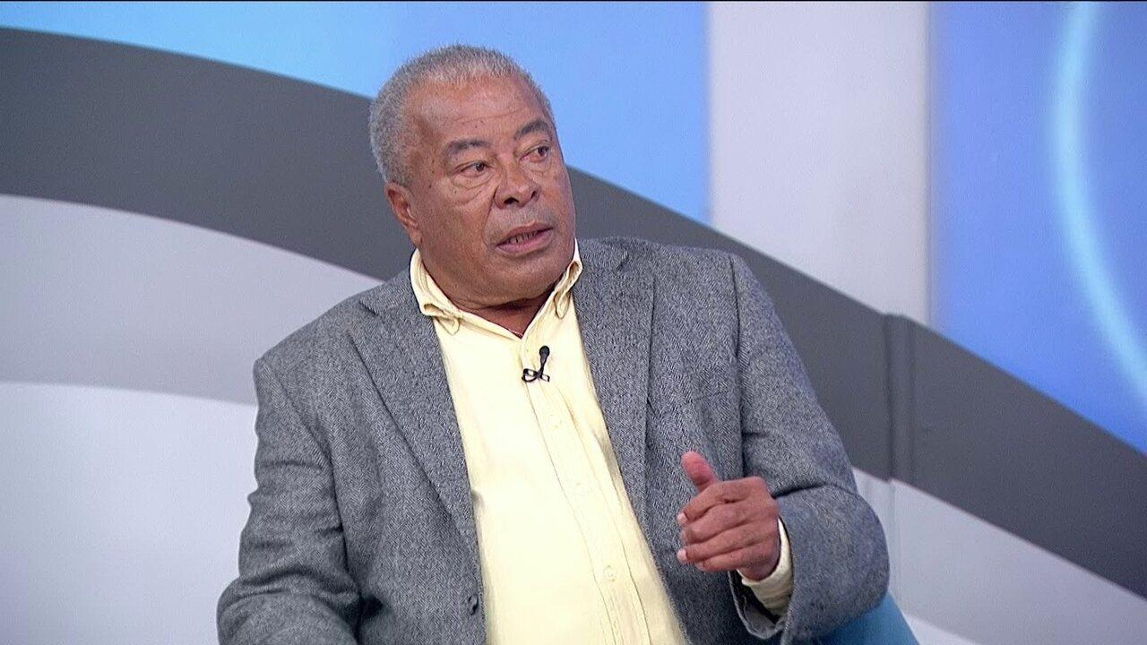 Jairzinho diz que é a favor de ex-jogadores se tornarem técnicos de futebol
