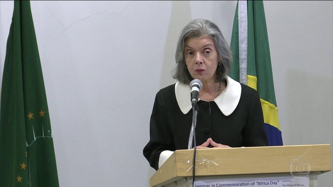 Presidente do STF diz que corrupção é crime que mata
