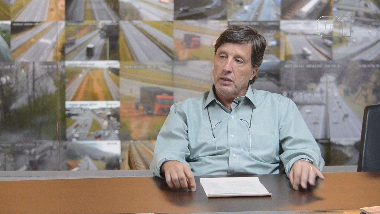 Helvécio Tamm de Lima Filho, diretor da Arteris, explica o papel da concessionária