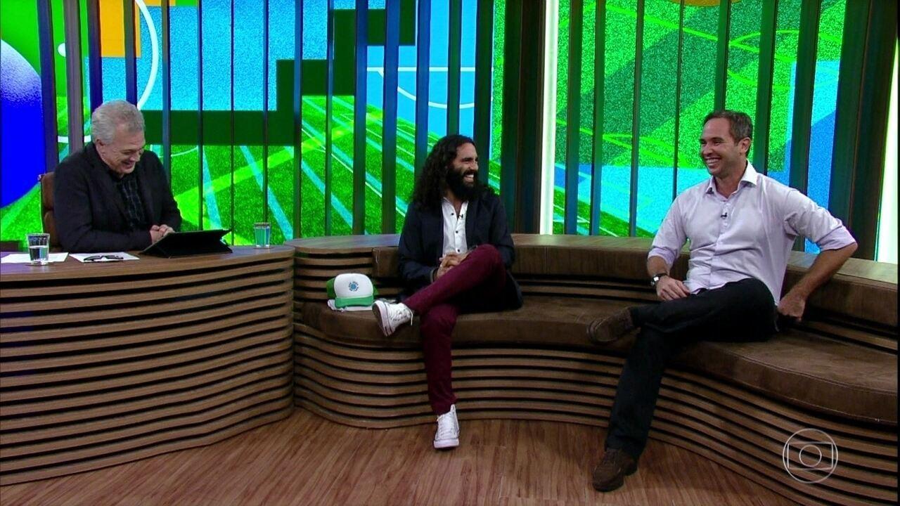 Juan Pablo Sorin e Caio Ribeiro falam sobre suas atuações como comunicadores