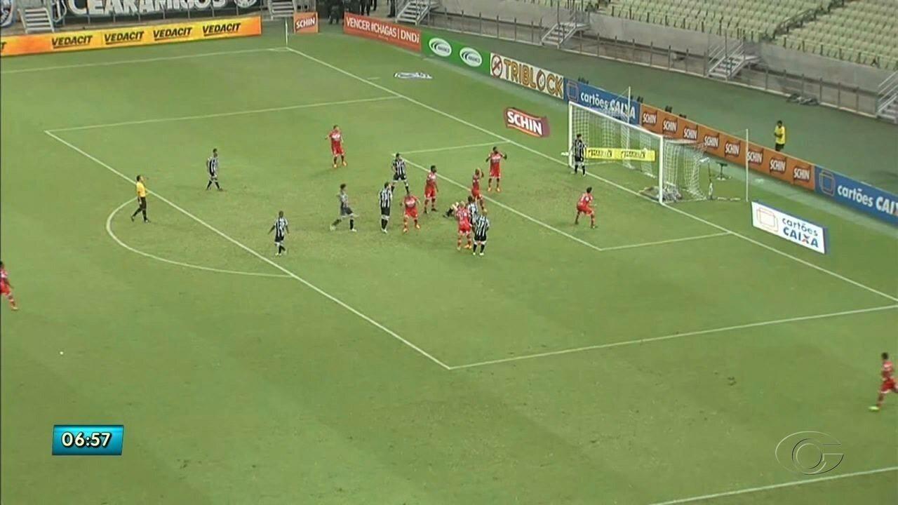 CRB empata com o Cearáe é eliminado da Copa Nordeste
