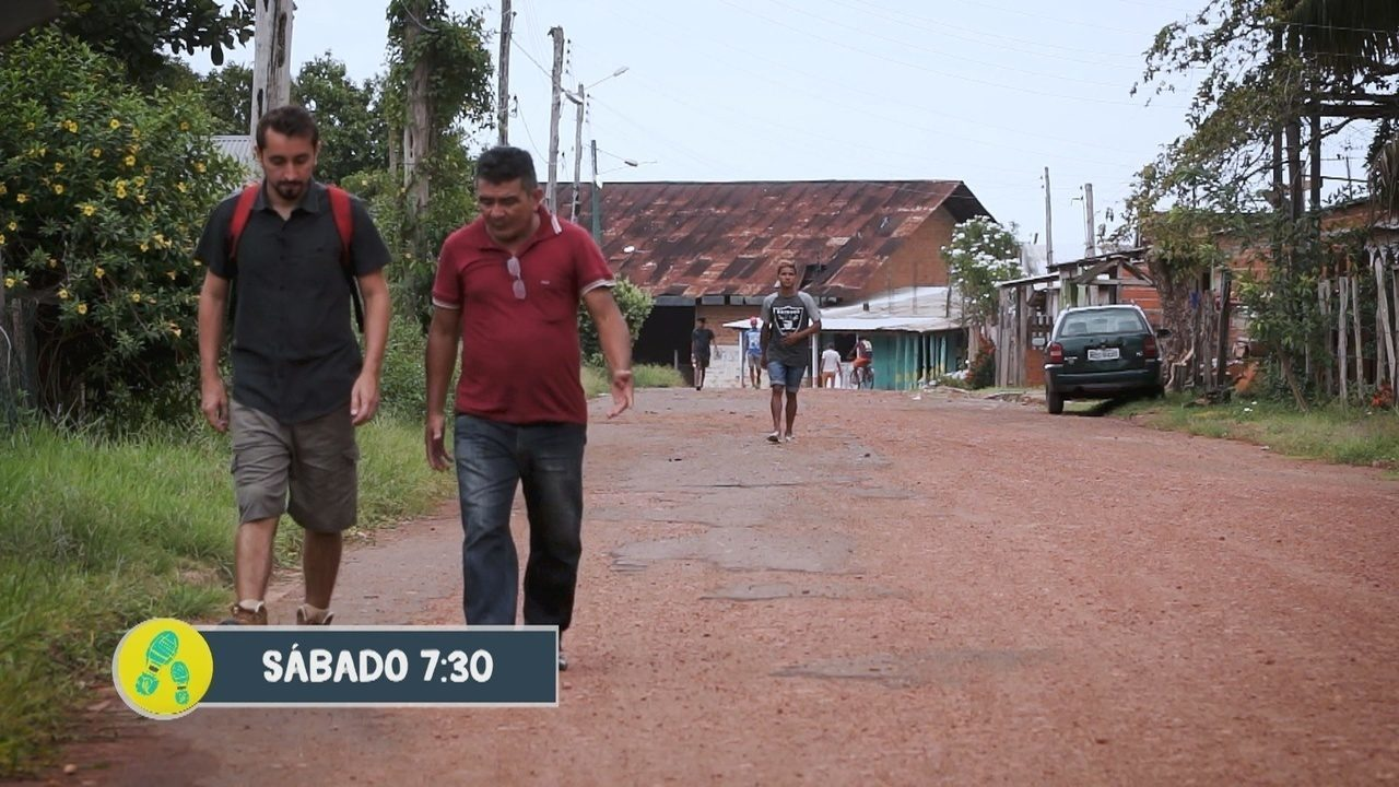 Partiu visita Vila Amazônia