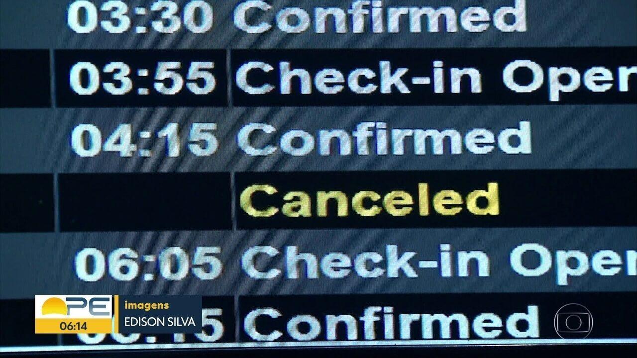 Por falta de combustível, 12 voos são cancelados no Aeroporto do Recife