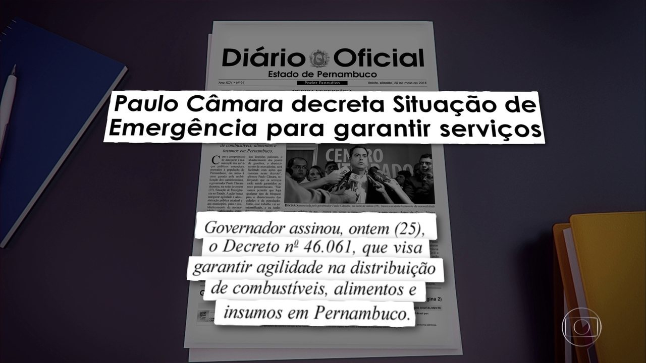 Governo de Pernambuco decreta situação de emergência para garantir serviços essenciais