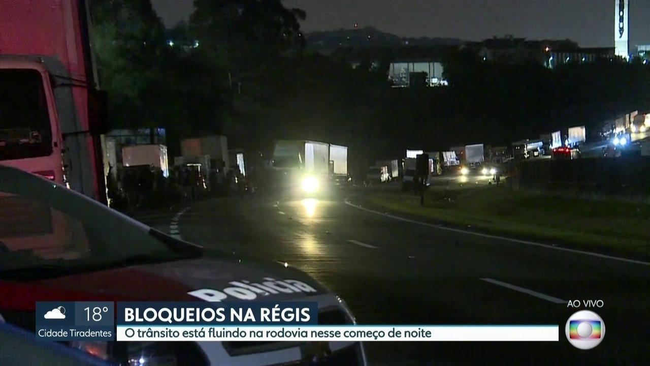 Trânsito é liberado na Rodovia Régis Bittencourt