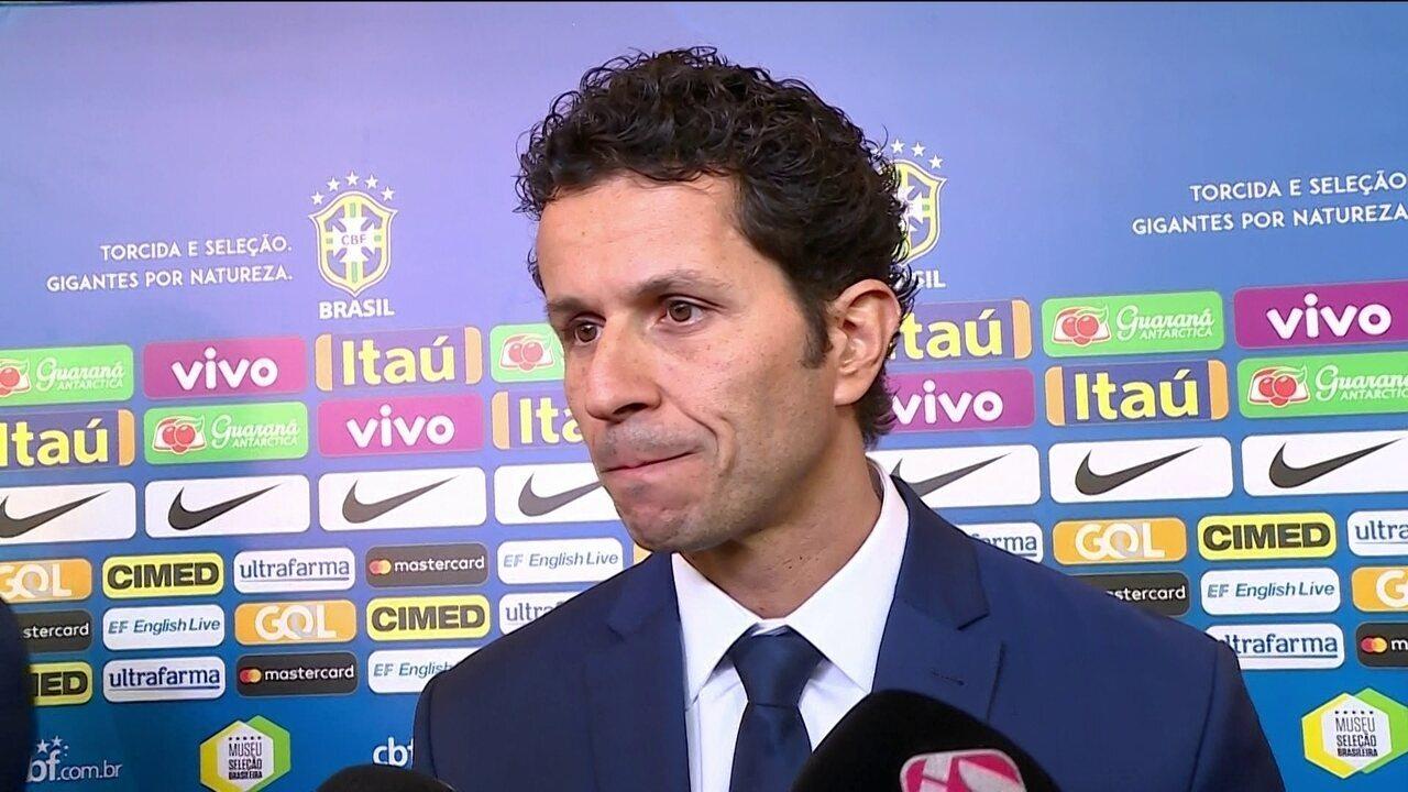 Rodrigo Lasmar, médico da Seleção, fala da recuperação de jogadores da Seleção Brasileira