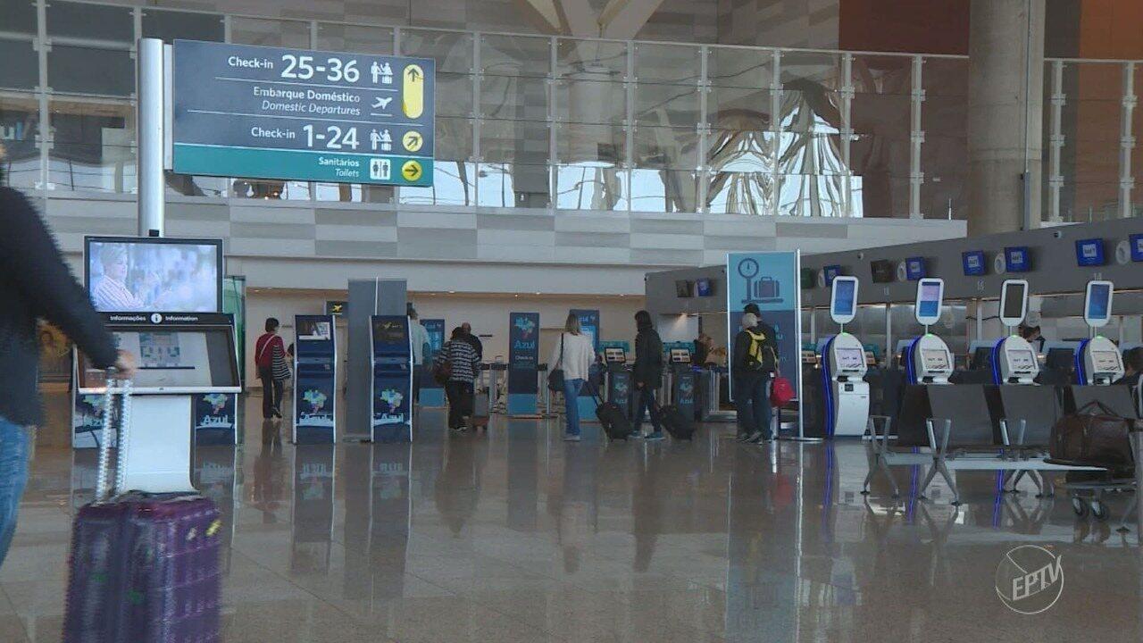 Viracopos tem 15 voos cancelados neste domingo