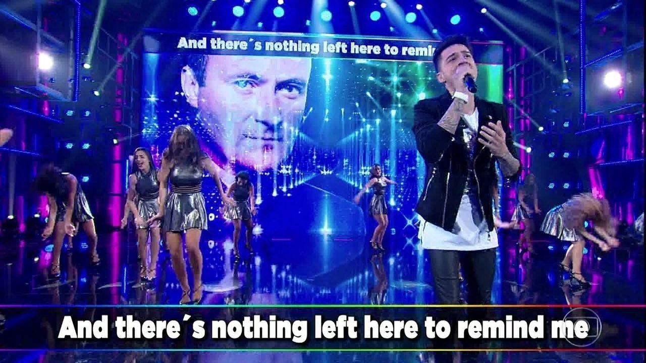 Jeferson Moraes canta