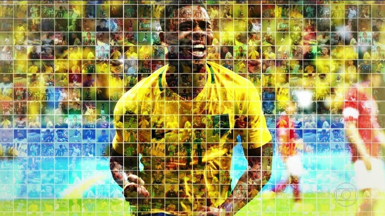 Série Copa: veja o perfil do atacante Gabriel Jesus